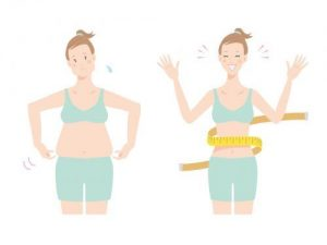 中年太り女性のダイエット